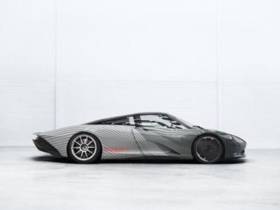Ontwikkeling in stroomversnelling: McLaren Speedtail-prototype klaar voor praktijktest
