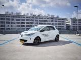 Konvooi elektrische Renault 'Design Rides' te zien op 13 oktober in Eindhoven