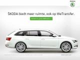 ŠKODA en WeTransfer: alle ruimte voor megabytes