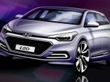 Eerste designschets van nieuwe Hyundai i20