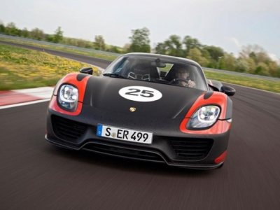 Porsche 918 Spyder: Supersportwagen van de toekomst
