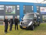 Bedrijfsauto op maat voor Heemstra Montage & Onderhoud