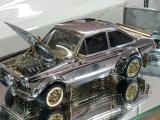 Megabedrag verwacht bij veiling uniek Ford Escort schaalmodel van goud, zilver en diamanten