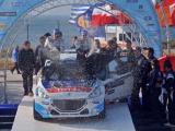 Indrukwekkend debuut van Peugeot 208T16: Winst in legendarische Acropolis Rally