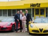 Ultieme snellle roadster exclusief te huur bij Hertz in België; de Alfa Romeo 4C Spider