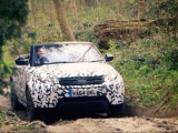 Range Rover Evoque Convertible doorstaat pittige terreintests
