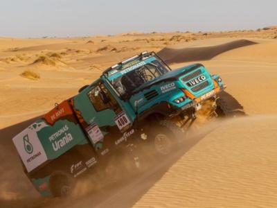 Team De Rooy gaat voor goud in de Dakar-rally 2019 op Goodyear-truckbanden