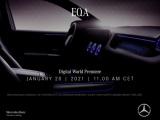 Digitale wereldpremière van de EQA op Mercedes me media