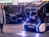 JAGUAR LAND ROVER wijst toekomstige autonome auto's de weg