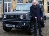 Suzuki Jimny verjaardagscadeau voor 90-jarige