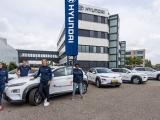Krajicek Foundation rijdt 100% elektrisch dankzij Hyundai.