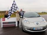 Nissan LEAF-rijders passeren mijlpaal van miljard elektrisch gereden kilometers