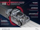 Nieuwe Jaguar XE met aluminium architectuur