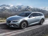 Vlaggenschip van Opel met offroad-design