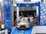 Weer een podiumfinish voor Mads Østberg met de DS3 WRC!