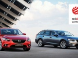 Mazda6 wint prestigieuze 'red dot design award 2013'