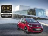 Opel Ampera-E verkozen tot 'Best Product of 2017'