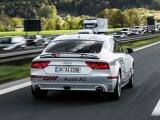 Omvangrijke Autobahn-test met zelfrijdende Audi