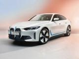 Een glimp van de allereerste volledig elektrische BMW i4 op de BMW Group Annual Conference.