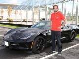 Nieuwe Chevrolet Corvette Stingray voor nieuwe Red Devil Daley Blind