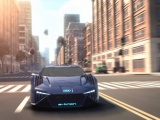 Audi ontwerpt RSQ e-tron concept car voor 'Spies in Disguise'