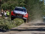 Abbring met Hyundai New Generation i20 WRC aan de start van spectaculaire Rally Finland