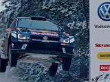 Ogier en Ingrassia winnen met Volkswagen Polo voor derde keer Rally Zweden