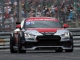 Bernhard van Oranje in actie tijdens Audi Sport TT Cup op Zandvoort