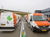 15 x elektrische Renault Master Z.E. voor PostNL in Amsterdam