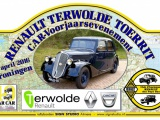 Renault oldtimers toerrit bij Terwolde Renault