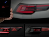 Volkswagen werkt aan interactieve autoverlichting van de toekomst