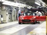 Mazda start met productie nieuwe MX-5