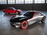 Opel GT Concept ontmoet legendarische voorvader op Techno Classica